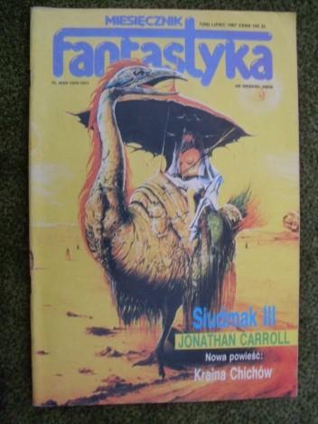 Okładka książki Miesięcznik Fantastyka 58 (7/1987)