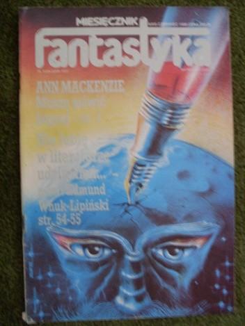 Okładka książki Miesięcznik Fantastyka 69 (6/1988)