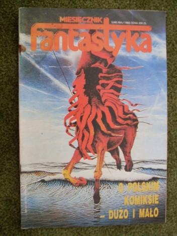 Okładka książki Miesięcznik Fantastyka 68 (5/1988)