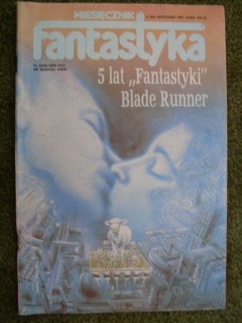 Okładka książki Miesięcznik Fantastyka 60 (9/1987)