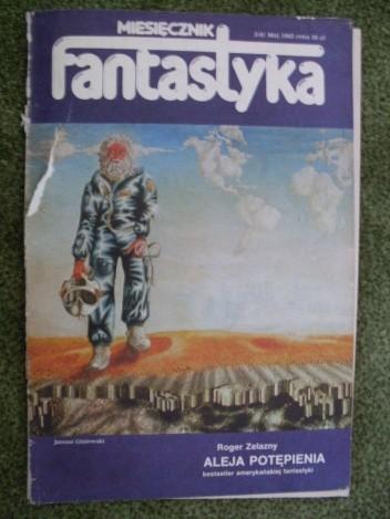 Okładka książki Miesięcznik Fantastyka 8 (5/1983)