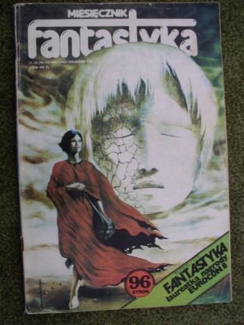 Okładka książki Miesięcznik Fantastyka 14-15 (11-12/1983)