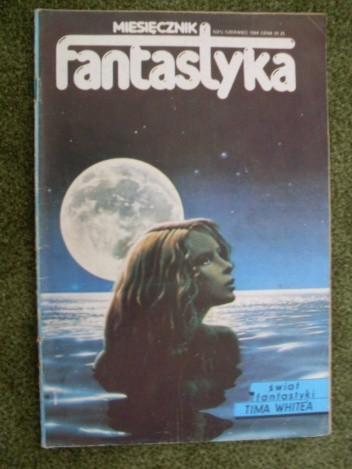Okładka książki Miesięcznik Fantastyka 21 (6/1984)