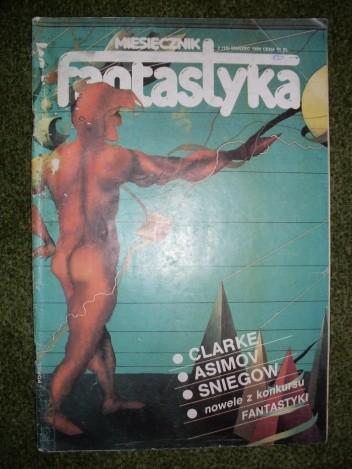 Okładka książki Miesięcznik Fantastyka 18 (3/1984)