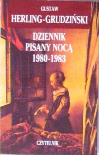 Okładka książki Dziennik pisany nocą 1980-1983
