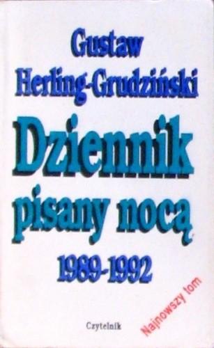 Okładka książki Dziennik pisany nocą 1989-1992
