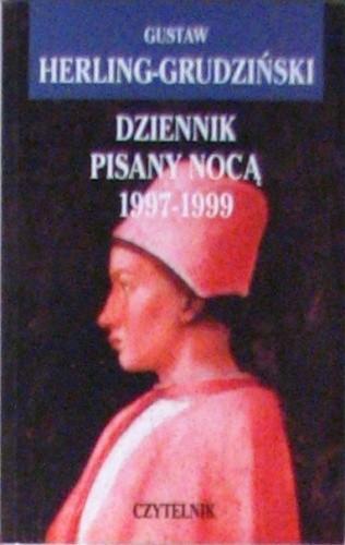 Okładka książki Dziennik pisany nocą 1997-1999