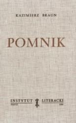 Okładka książki Pomnik