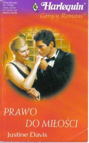 Okładka książki Prawo do miłości