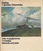 Okładka książki Wieś w malarstwie i rysunku naszych artystów