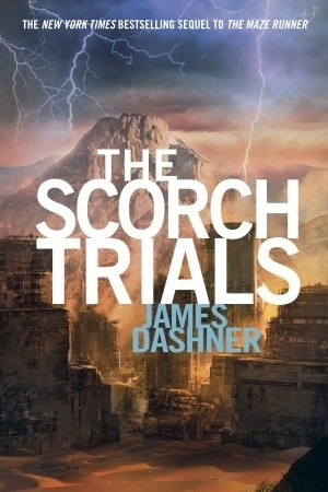 Okładka książki The Scorch Trials
