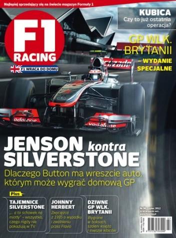 Okładka książki F1 Racing nr 96