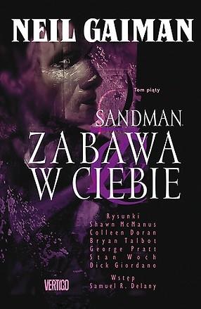 Okładka książki Sandman. Zabawa w ciebie