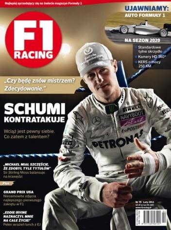 Okładka książki F1 racing nr 79