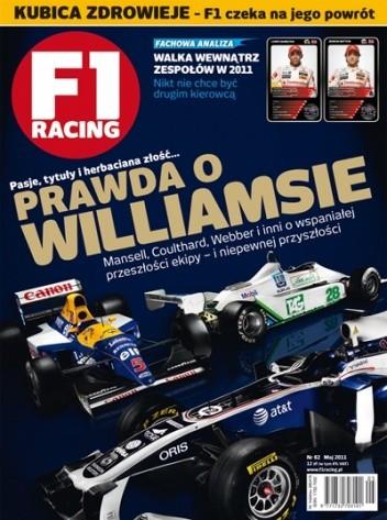 Okładka książki F1 racing nr 82