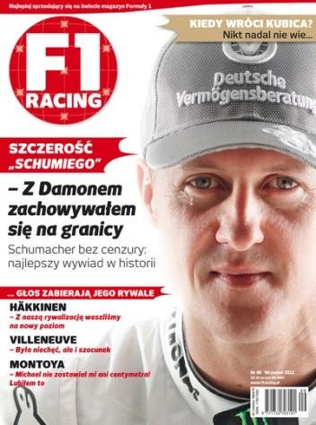 Okładka książki F1 racing nr 86