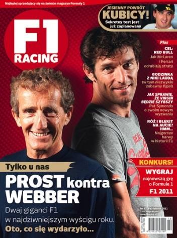 Okładka książki F1 racing nr 87