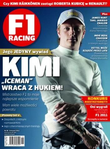 Okładka książki F1 racing nr 88