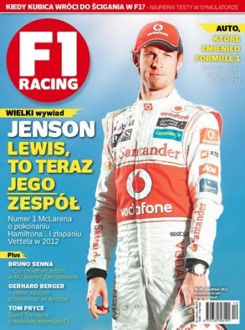 Okładka książki F1 racing nr 89