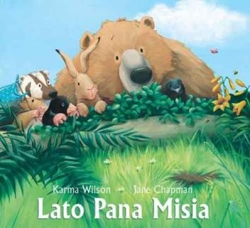 Okładka książki Lato Pana Misia