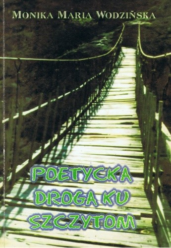 Okładka książki Poetycka droga ku szczytom