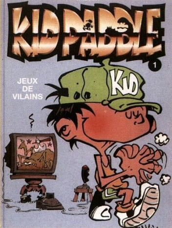 Okładka książki Kid Paddle - 1 - Zabawy niegrzecznych chłopców