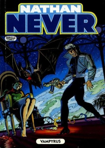 Okładka książki Nathan Never - Vampyrus
