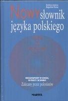 Okładka książki Nowy słownik języka polskiego