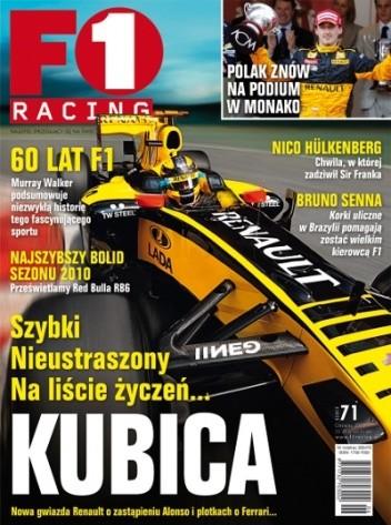 Okładka książki F1 Racing nr 6/2010