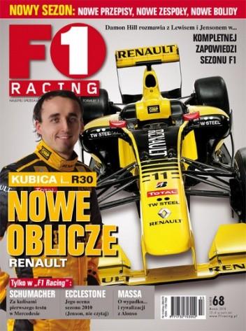 Okładka książki F1 racing nr 68