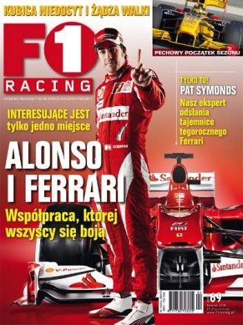 Okładka książki F1 racing nr 69
