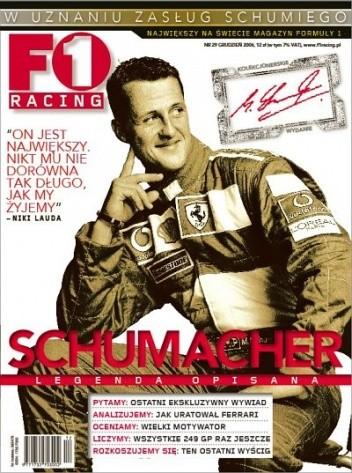 Okładka książki F1 Racing nr 12/2006