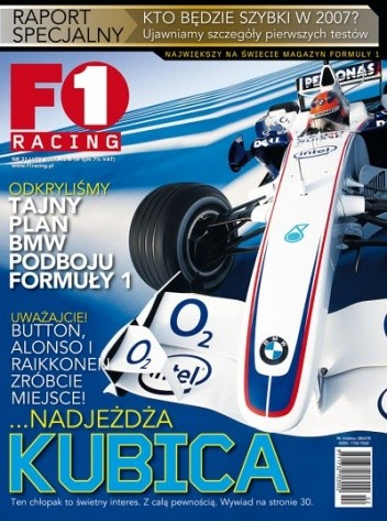 Okładka książki F1 racing nr 31