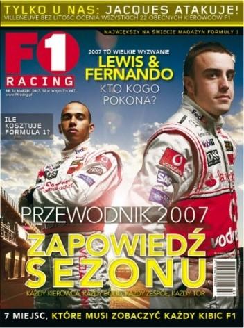 Okładka książki F1 Racing nr 3/2011