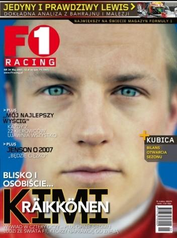 Okładka książki F1 racing nr 34