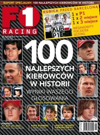 Okładka książki F1 racing nr 46