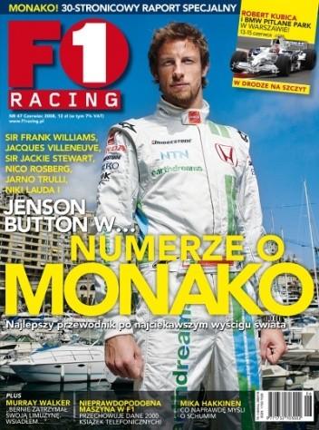 Okładka książki F1 racing nr 47