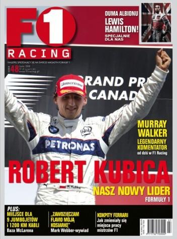 Okładka książki F1 Racing nr 7/2008