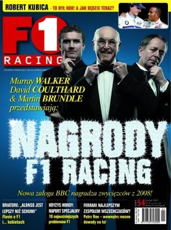 Okładka książki F1 Racing nr 1/2009