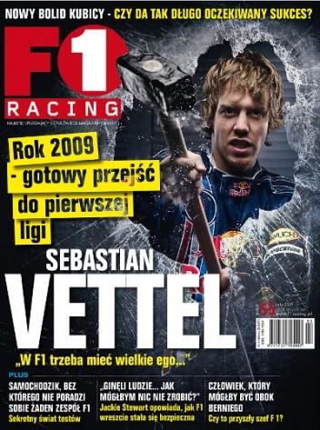 Okładka książki F1 Racing nr 2/2009