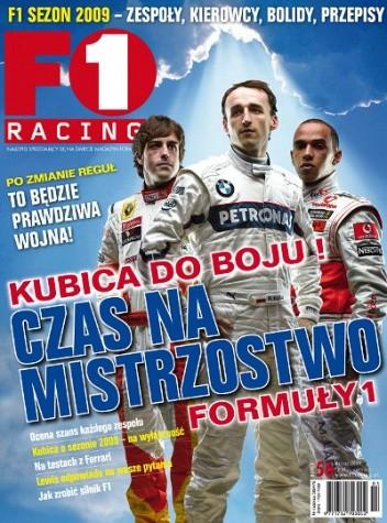 Okładka książki F1 racing nr 56