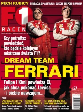 Okładka książki F1 racing nr 57