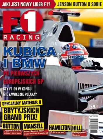 Okładka książki F1 Racing nr 6/2009