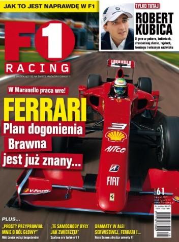 Okładka książki F1 Racing nr 8/2009