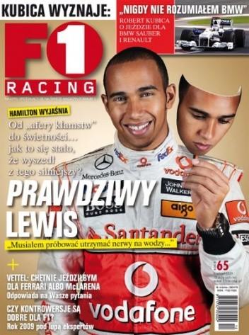 Okładka książki F1 racing nr 65
