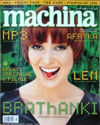 Okładka książki Machina 7(52)2000