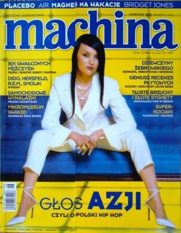 Okładka książki Machina 6(63)2001