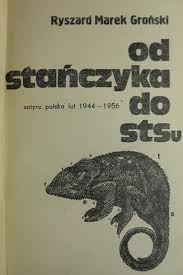 Okładka książki Od Stańczyka do STS-u : satyra polska lat 1944-1956
