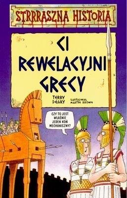 Okładka książki Ci rewelacyjni Grecy