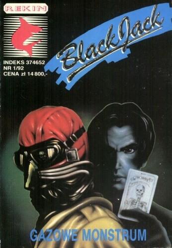 Okładka książki Black Jack. Gazowe monstrum